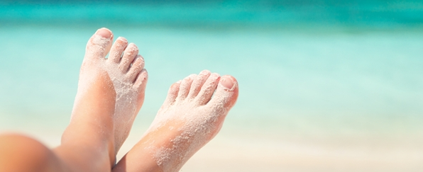 cuidado pies verano