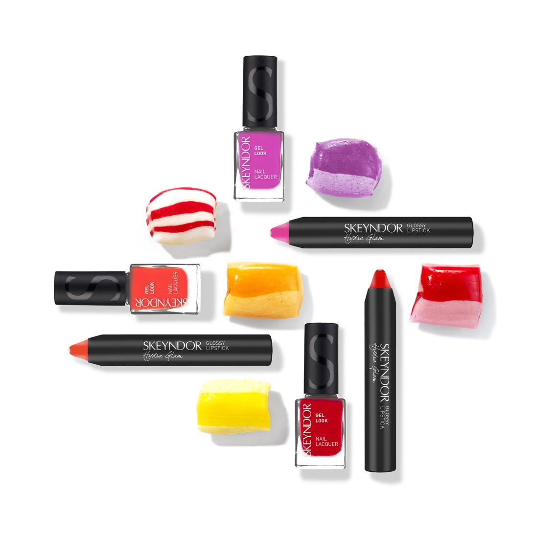 Laca de uñas + Barra de labios