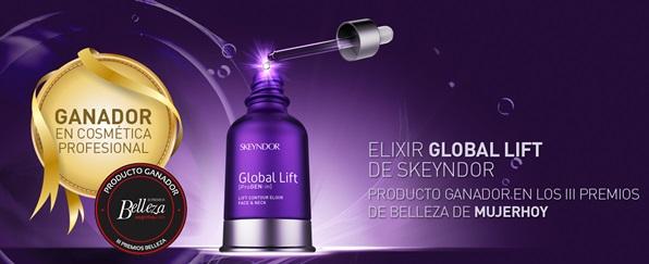 ELIXIR GLOBAL LIFT, ganador de los Premios de Belleza de Mujer de Hoy