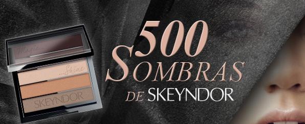 ¡Hazte con una de las 500 sombras de SKEYNDOR!