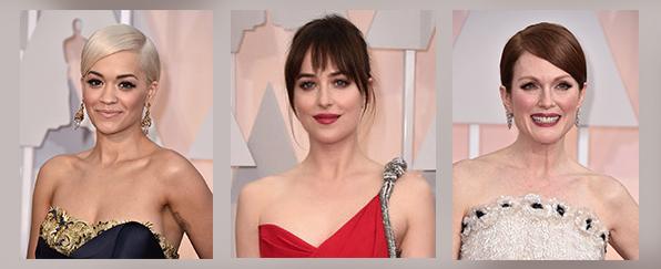 Los mejores maquillajes de los Oscar 2015 por David Molina