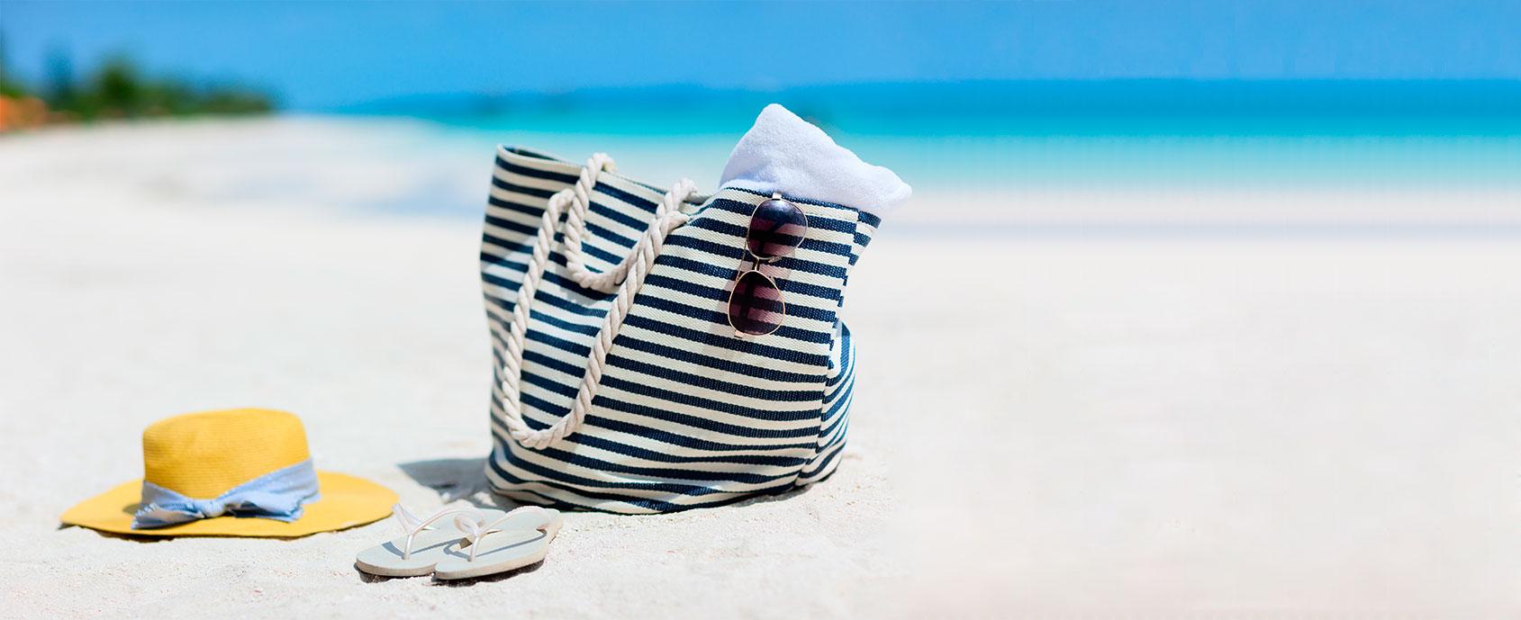 Bolsa de playa ideal