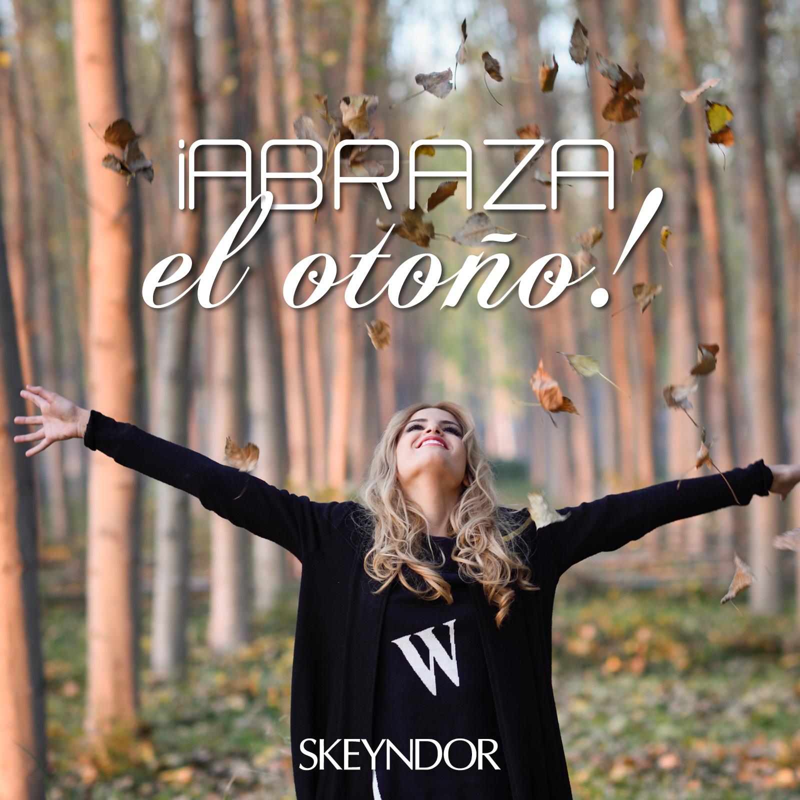 ¡Abraza el otoño!
